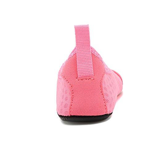 HooyFeel Cute Kids Toddler Sneakers Lightweight Slip on Swim Water Shoes Aqua Barefoot Socks for Baba Boys and Girls by HooyFeel (Image #5)