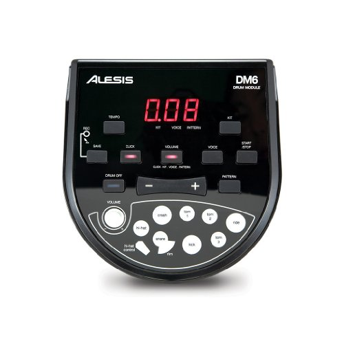 Alesis-DM6-USB-Kit-Eight-Piece-Compact-Beginner-Electronic-Drum-Set-with-8-Snare-8-Toms-12-Cymbals