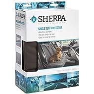 Sherpa Single Car Seat Cover, Gray