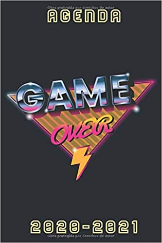 agenda game over 2020 2021: agenda escolar 2020 2021 gamer