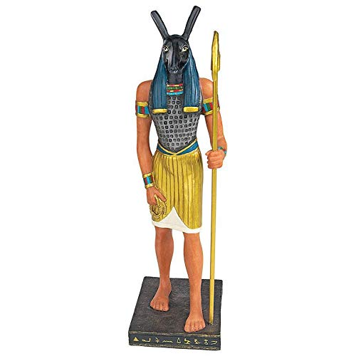 Design Toscano Ancient Egyptian God Seth Statue