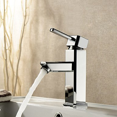 AA Faucet£¬ Contemporary single Chrome Centerset bathroom sink faucet single hole