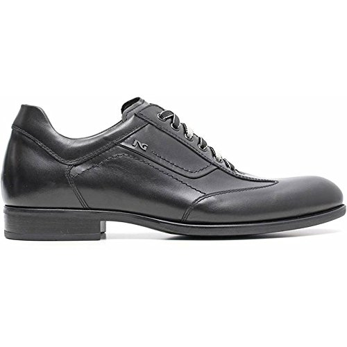 Sneaker Hombre Elegante Negro a604560u-100–Negro Jardines