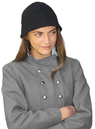 Handmade PURE ALPACA FABRIC Bell Hat - Vintage Inspired (Custom -