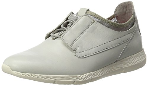 Tamaris Women's 23619 Low-Top Sneakers, Cloud Comb, 2 UK White (Offwhite 109)