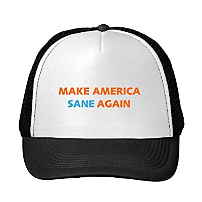 Kari Snapback Trucker Hat Make America Sane Again Popular Cap