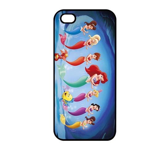 Coque,the Little Mermaid Movie Design Anti Slip Shell for Coque iphone SE & Coque iphone 5 & Coque iphone 5S Durable Snap On Case Cover With Best Plastic