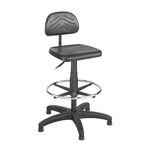 Sold Bench Separately (Safco Products 5110 Task Master Economy Workbench Chair (Additional options sold separately), Black)