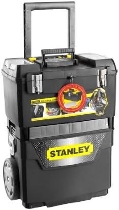 Stanley 1-95-649 Taller de carbono Siervo (1-93-968) + Caja de herramientas seriepro 31 cm (1-92-064) + clásicos organizador 11 compartimentos (1-92-888), Negro y amarillo: Amazon.es: Bricolaje y herramientas