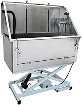 Pedigroom Electric Dog Grooming Bath Professional Large Stainless Steel Tub Amazon Co Uk Pet Supplies