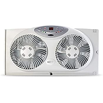 Amazon Com Bionaire Window Fan With Twin 8 5 Inch