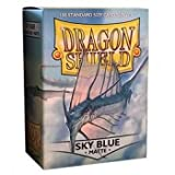 Dragon Shield Sleeves Matte Sky Card Game, Blue