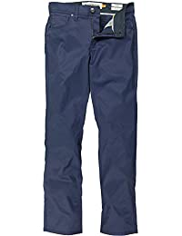 Performance 5 Pocket Pant (Navy) 1651P664-NVY. Tailor Vintage
