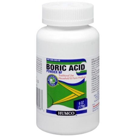 Boric Acid Powder Humco 6oz (2 ()