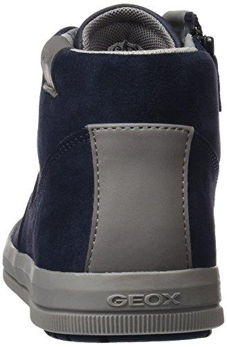 Geox Adulto Unisex J Arzach Ragazzo H Alta Sneaker Blu (navy)