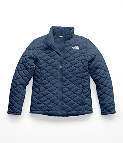 The North Face Kids Girl's Thermoball Full Zip (Little Kids/Big Kids) Blue Wing Teal X-Small