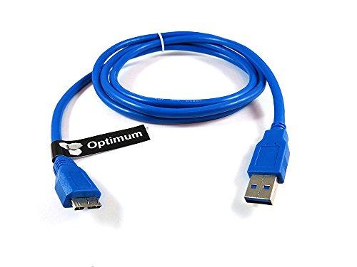 Optimum Orbis USB 3.0 Micro-B plug Data Sync Cable for Ex...
