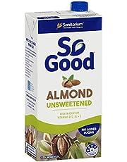 Sanitarium So Good Long Life Unsweetened Almond Milk 1l