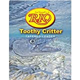 Rio Fly Fishing Striped Bass 7′ 20Lb 10kg Fishing Leaders, Clear
