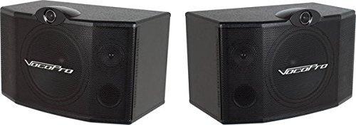 VocoPro SV-500 10-Inch 3-Way Vocal Speaker (Pair) [並行輸入品] B078HVPZLR