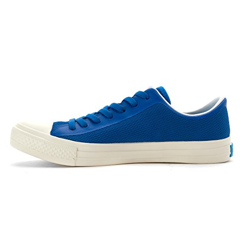 Människor Skor Mens Phillips 3d Tryckt Mesh Mode Sneakers Tofino Blå / Vit Postering