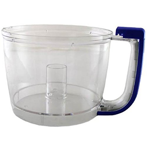 Kitchenaid KFP77WBBU Work Bowl with Cobalt Blue Handle