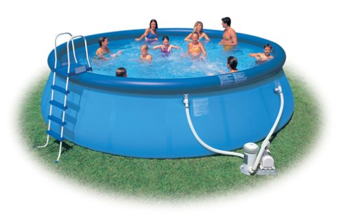 18' x 48'' Intex Easy Set Pool Package