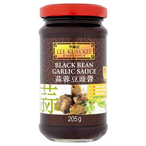 - Lee Kum Kee Black Bean & Garlic Sauce - 205g (0.45 lbs)