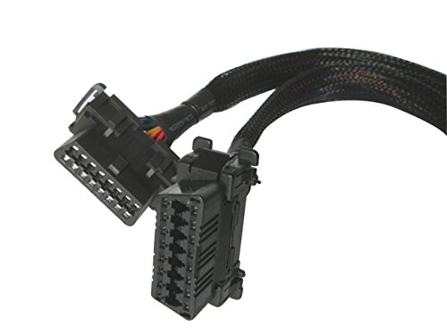 Fotag 16 Pin Obd2 Obdii Splitter Adapter Extension Vehicle