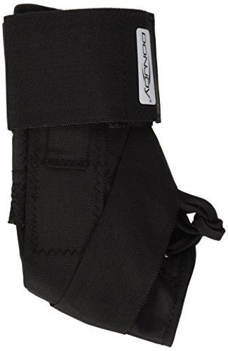 DonJoy Stabilizing Pro Ankle Support Brace, Black, Small