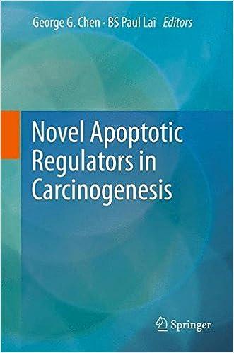 Novel Apoptotic Regulators in Carcinogenesis