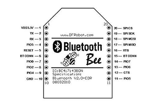 DFRobot Bluetooth 2.0 Bee Module for Arduino by DFROBOT (Image #4)