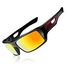 ROCKBROS Polarized Cycling Sunglasses Goggles Lightweight UV Protection