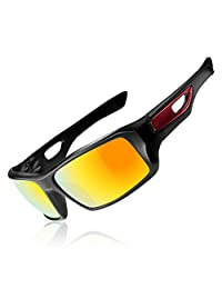 ROCKBROS Polarized Cycling Sunglasses Goggles Lightweight UV Protection