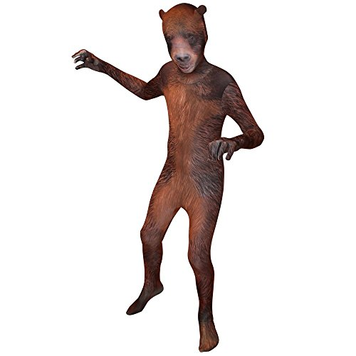 Morphsuits Kids Animal Planet Grizzly Costume - Size Small 31-36 (94cm-107 cm) -