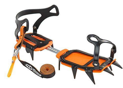Climbing Technology Ice crampon Classic orange/black by Climbing Technology