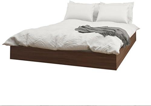 Nexera Alibi Queen Size Platform Bed