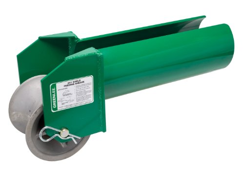 Greenlee 441-6 Feeding Sheave for 6-Inch Conduit by Greenlee