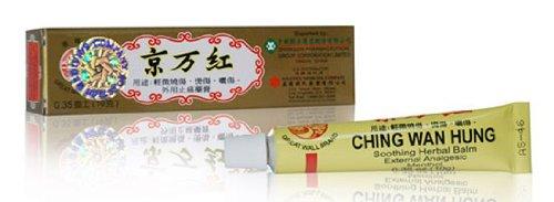 Ching Wan Hung Baume Apaisant Herbal - Menthol Analgésique externe