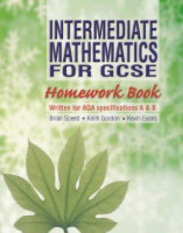 Download Intermediate Mathematics for GCSE Homework Book PDF