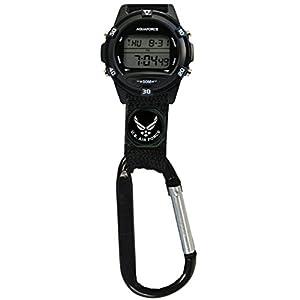 U.S. Air Force Digital Clip Watch - 50m Water Resistant