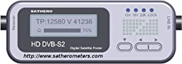 SatHero SH-100HD Pocket Digital Satellite Signal Finder DVB-S, DVB-S2 8PSK MPEG4 & MPEG2
