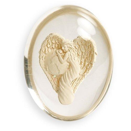 Religious Stone (Angelstar 8806 Travel Angel Worry Stone, 1-1/2-Inch)