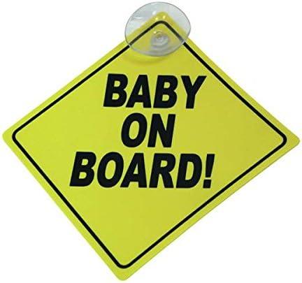 CARPOINT 1710579 Cartello Baby On Board