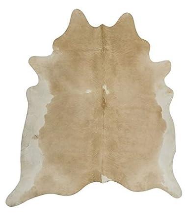 nadeco kuhfell beige weiss 2 3m kuhfell teppich stierfell rinderfell