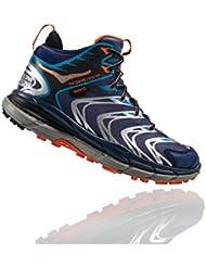 HOKA ONE ONE Mens Tor Speed 2 Mid Waterproof Hiking Shoe