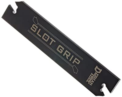 "Dorian Tool SGIH Slot Grip Positive Stop Cut-Off Blade for SGT(N/R/L)-6 Inserts, 5-57/64"" Length, 1-1/4"" Height, 13/64"" Thick"