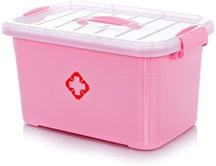 EXTR ANT - Caja de Medicina Extra Grande para Guardar medicamentos de Emergencia, de plástico, para niños pequeños: Amazon.es: Hogar