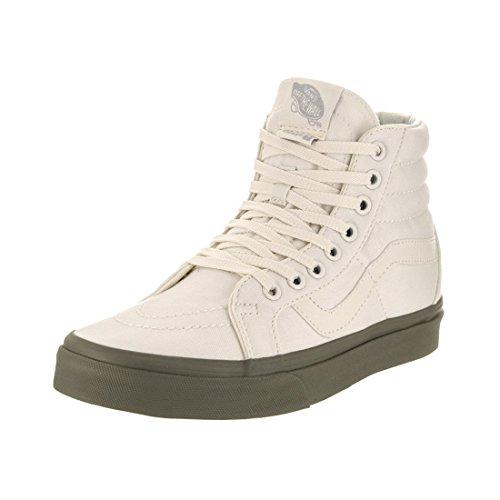 Vans Unisexe Sk8-hi Réédition (vansguard) Chaussure De Skate Classique Blanc / Lierre Vert