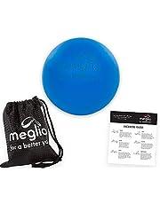MEGLIO Bola de Lacrosse Masajes de Puntos Gatillo, Rehabilitación, Fisioterapia, Bola de Masaje de Tejido Profundo para Liberación Miofascial